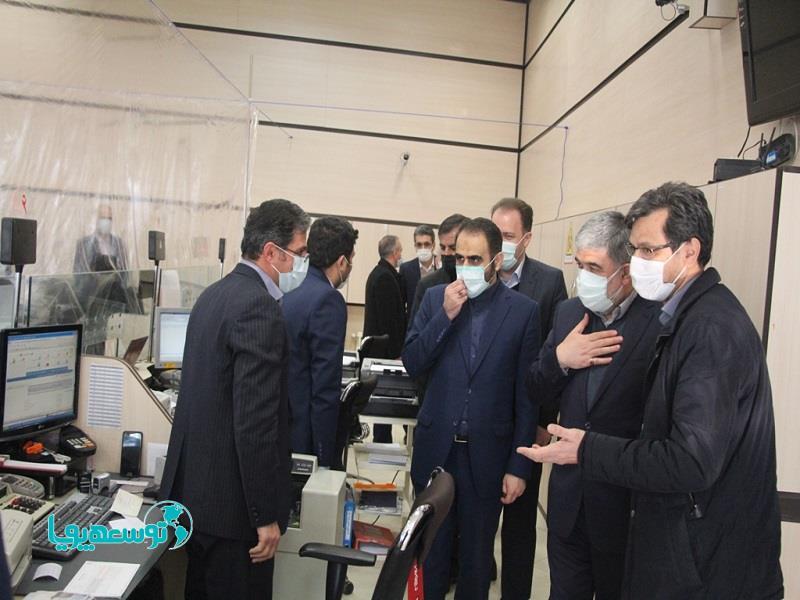 آقاملائی در بازدید از شعب استان آذر بایجان شرقی وصول به موقع مطالبات، توانایی پرداخت تسهیلات را افزایش میدهد