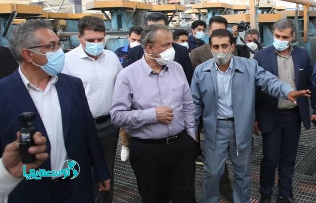 بهرهبرداری از 6 واحد تولیدی به ارزش 6400 میلیارد ریال در جنوب کرمان